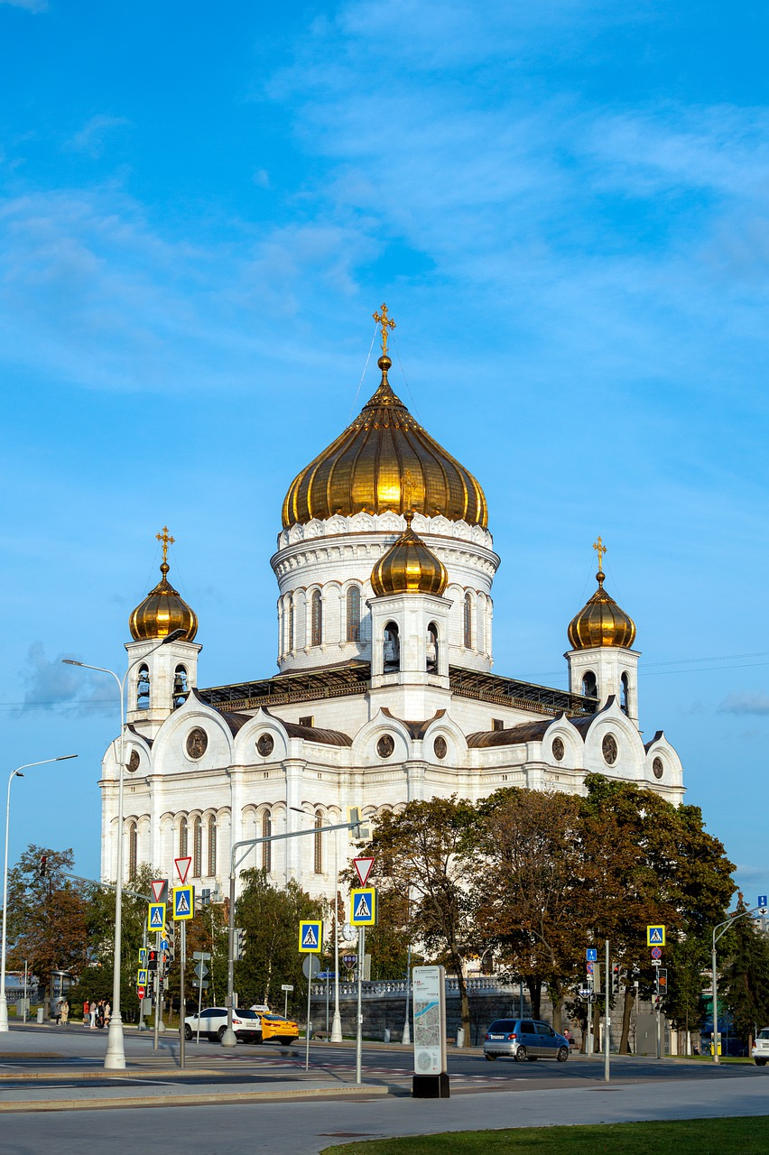 Christ The Savior Cathedral  - AKuptsova / Pixabay