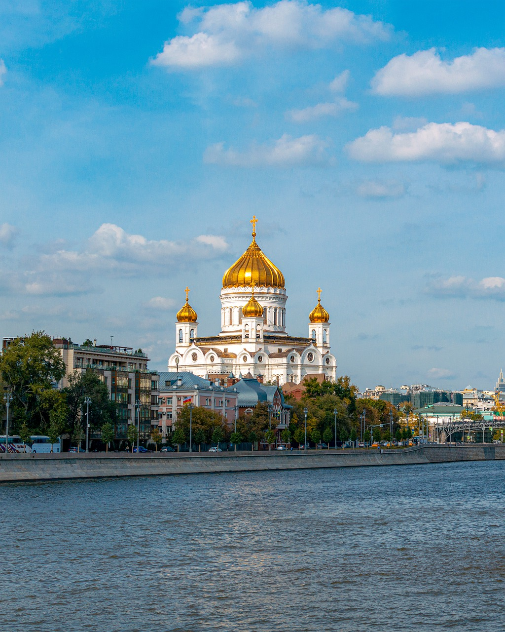 Moscow Cathedral River  - AKuptsova / Pixabay