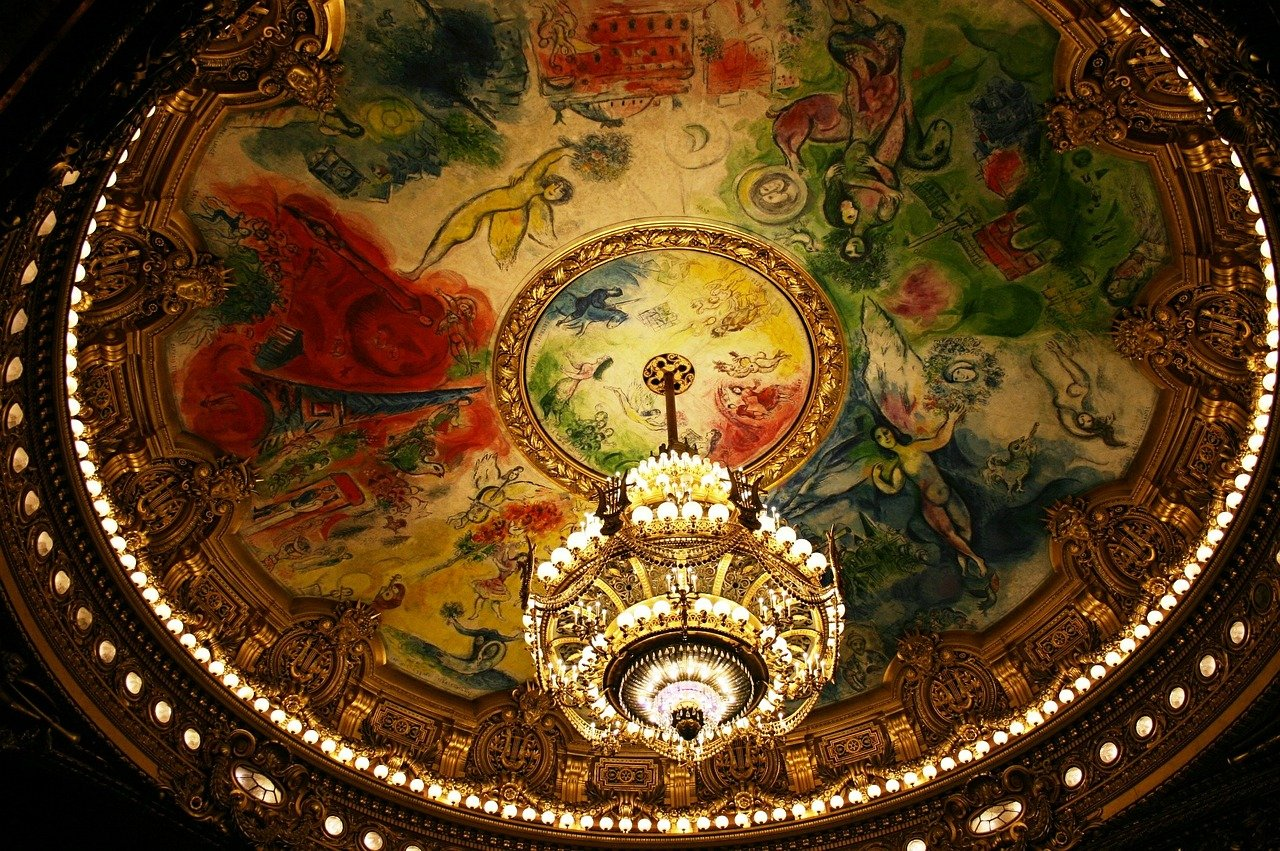 The Paris Opera Op%C%Ara Garnier  - 139904 / Pixabay