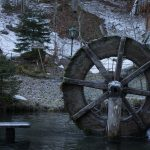 Waterwheel Winter Pond Winter Mood  - 11614936 / Pixabay